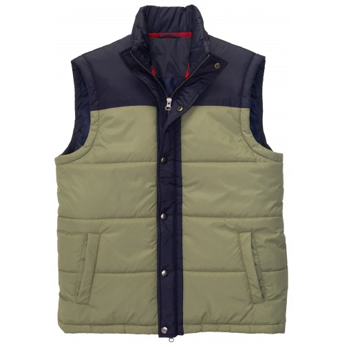 Campground Vest: Loden Frost